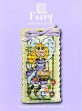 Fairy Lavender Sachet Cross Stitch Kit By Textile Heritage