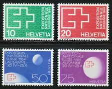 Switzerland 1963 MNH Mi 782-785 Sc 430-433 Swiss National Exhibition