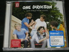 ONE DIRECTION - Live While We're Young + I Want - USA WALMART CD w/ Poster! NEW!