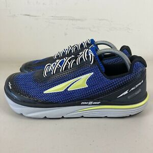 Altra Torin 3.0 Mens Running Shoes Blue Yellow US 9 New Free Postage