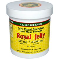 Y S  Eco Bee Farms  Royal Jelly  in Honey  675 mg  1 3 lbs  595 g