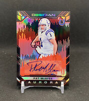 2018 Panini NFL Obsidian Pat Mcafee Aurora Auto 2/5 SSP For the Brand Colts