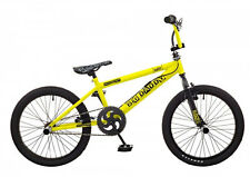 Rooster Big Daddy Yellow- Black Spoked Freestyle BMX Bike