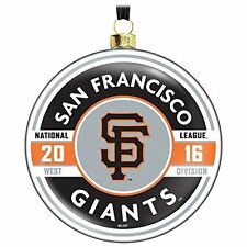 San Francisco Giants 2016 Hallmark Ornament MLB Baseball Christmas Commemorative