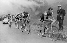 LOUISON BOBET & JACQUES ANQUETIL TOUR DE FRANCE 1958 POSTER