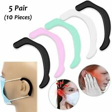 Face Mask Ear Protector Guard for Strap 5 Pairs 10 PCs Relieve Pressure I Pain