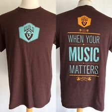 "GUILD GUITARS Official ""When Your Music Matters"" T-Shirt Size Medium"