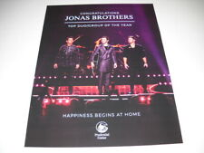 JONAS BROTHERS Happiness Begins At Home 2019 PROMO POSTER AD mint condition