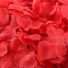 1000pcs Red Silk Rose Artificial Petals Wedding Party Flower Favors Decor Xmas