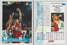 JOKER BASKET Serie A1 1994-95 - Massimiliano Rizzo # 128 - Near Mint