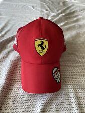 Puma Scuderia Ferrari F1 2019 Team Hat Sebastian Vettel