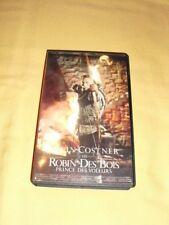 Robin des Bois, prince des voleurs VHS Kevin Costner Morgan Freeman
