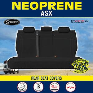 Mitsubishi ASX XC, XD SUV 2016-On Custom Neoprene REAR Seat Cover Waterproof Car