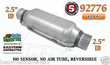 """92776 Eastern Universal Catalytic Converter ECO III 2.5"""" 2 1/2"""" Pipe 12"""" Body"""