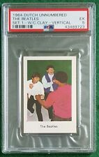 1964 Dutch unnumbered set The Beatles vs Cassius Clay vertical PSA 5 EX