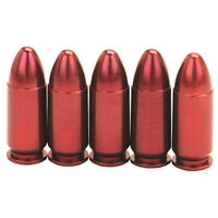 Azoom Snap Caps / Dummy Rounds for 9mm Pistol 5 Count