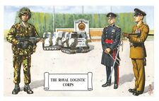 Postcard The Royal Logistic Corps, The War Memorial at Deepcut by Geoff White