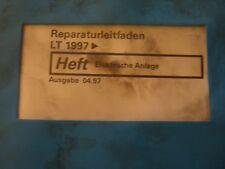 VW LT 1997 - 1999 Elektrische Anlage Reparaturleitfaden Werkstatthandbuch
