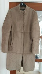 Ladies Long Coat By River Island Size 14