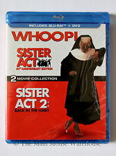 Catholic Convent Comedy Sister Act & Sister Act 2 Blu Blu-ray DVD Double Feature