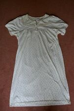 La Marquise llemon floral short sleeve soft cotton nightdress - M-L