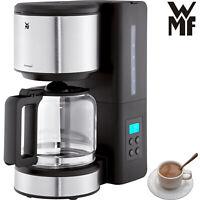 WMF Edelstahl Filter Kaffeemaschine Display Timer Glaskanne Kaffeeautomat 1000 W