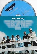 BZN - Keep smiling CD SINGLE 2TR DUTCH CARDSLEEVE 2001 (MERCURY) VERY RARE!!