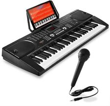 Digital Music Piano Keyboard, Portable Electronic Musical Instrument, Microphone
