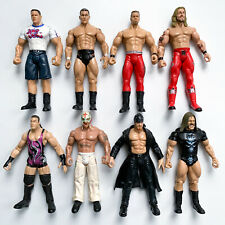 WWE WWF Jakks Pacific Lot 8 Used WRESTLING FIGURES Played-With Condition As-Is