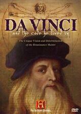 Da Vinci and the Code He Lived By (History Channel), New DVD, Leonardo Da Vinci,