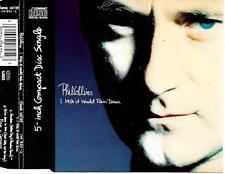 PHIL COLLINS - I wish it would rain down CD SINGLE 3TR Europe (WEA) 1990