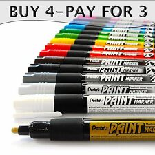 Pentel Permanent Cellulose Paint Marker Pens - MMP20 - Single - Buy 4, Pay For 3
