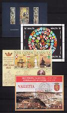 103615/ Malta 1980/93 - ex Bl. 6/16 - schönes Blocklot - o - M€ 11,00