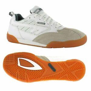 Hi-Tec Squash Shoes Classic Mens Lace Up Badminton Indoor Court Trainers
