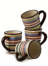 Two And A Half Men Charlie Harper Lifestyles Gallery Sedona Striped 4 Mug Set