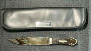 Large Custom Handmade Stainless Steel William Rogers Knife  Lot#SP21 Wood Handle