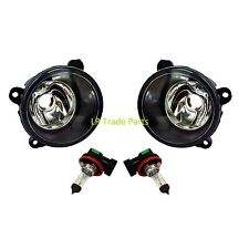 LAND ROVER DISCOVERY 3 NEW FRONT BUMPER FOG LIGHTS LAMPS X2 (2004-09) LIGHT SET