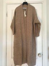 Zara beige cream knit  coat cardigan bnwt S