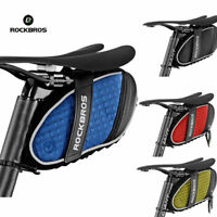ROCKBROS Bicycle Saddle Bag Reflective Rear Seatpost Waterproof Bike Bag