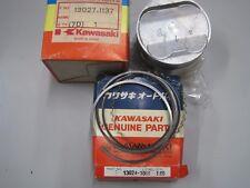 KAWASAKI NOS PISTON & RINGS 13027-1137 & 13024-1068 +1.00mm  KLR250 KL250 KSF250