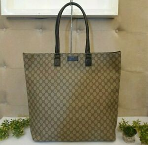 Gucci canvas tote bag Extra Large FREE SHIPPING