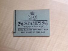 Great Britain Stamp Booklet 2/6 May 1957 F54