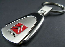 FREE SHIPPING CITROEN DS SM 2VC C2 C4 Key Chain Ring-CHROM METAL KEYRING