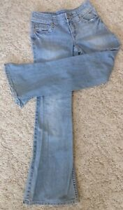 Justice Premium Jeans Girls Size 14S Simply Low Boot Leg 5 Pocket