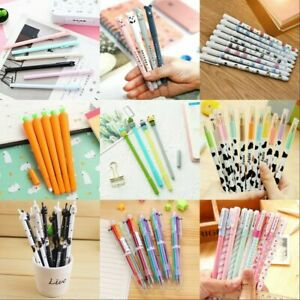 Wholesale Lots Cartoon Gel Pen Ballpoint Gift Stationery School & Office Supply