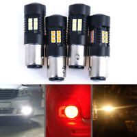 2Pcs 1157 3030 21-SMD LED Bulbs Car Turn Signal Reverse Brake Lights L li