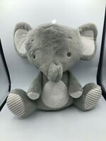 Official Playgro Baby Grey Elephant Plush Kids Soft Stuffed Toy Animal Doll