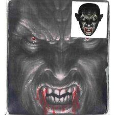 Vampire Print Mesh Overhead Full Face Halloween Mask