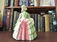 Vintage 1950's Ceramic Crinoline Lady Figurine