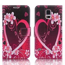 Book Handy Tasche Samsung Galaxy S5 Sm-g900f Cover Schutz hülle Etui Case 111